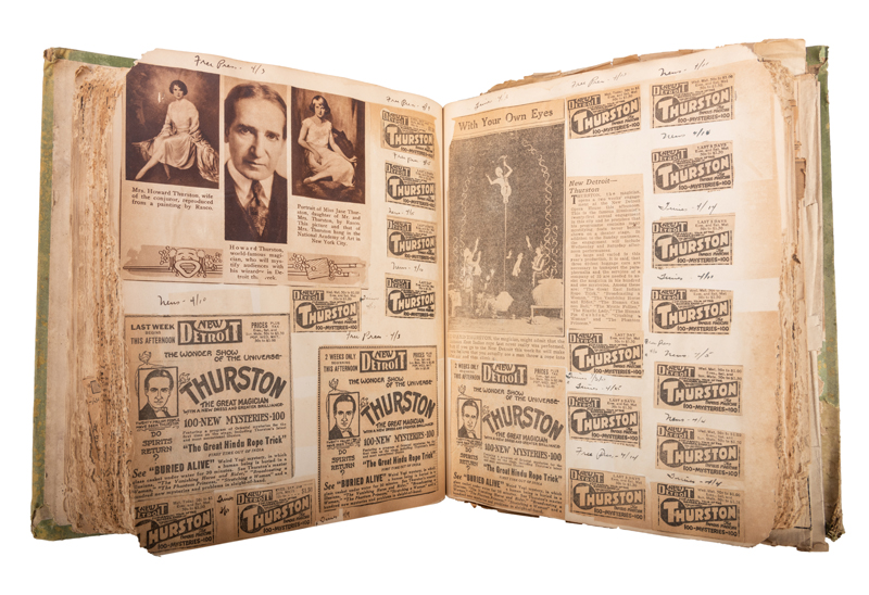 Howard Thurston 1926-27 Tour Scrapbook