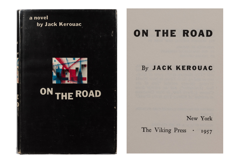 Jack Kerouac. On the Road. 1957. First edition.