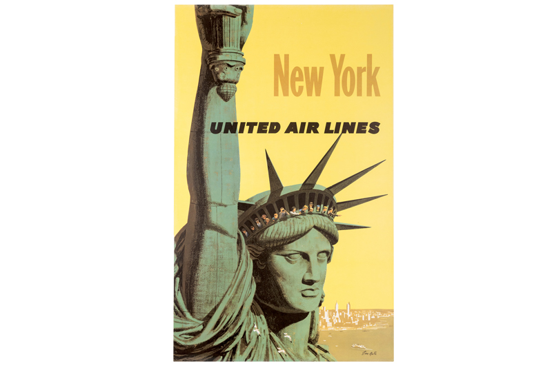 Stan Galli. New York. United Air Lines