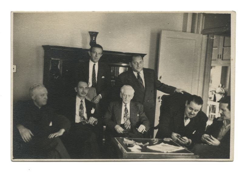 Photograph of the New York Inner Circle