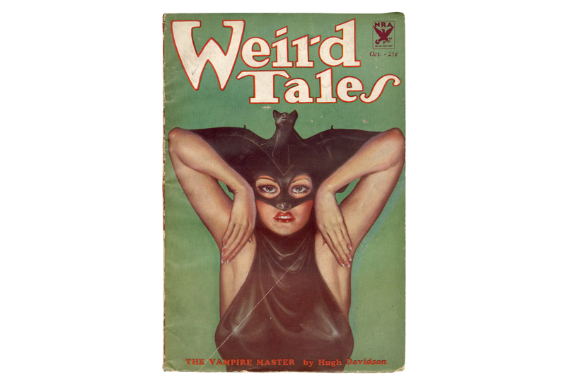 Weird Tales Magazine. The Vampire Master