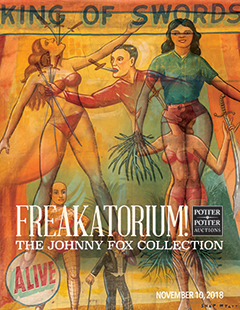 Johnny Fox's Freakatorium at Auction